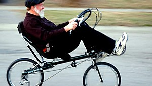 Recumbent Biking