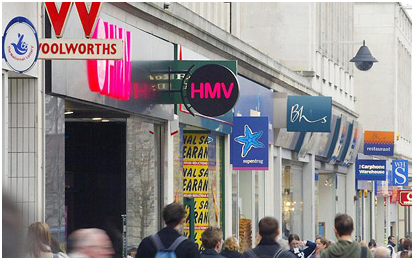 The Future Of High Street Retail In The UK