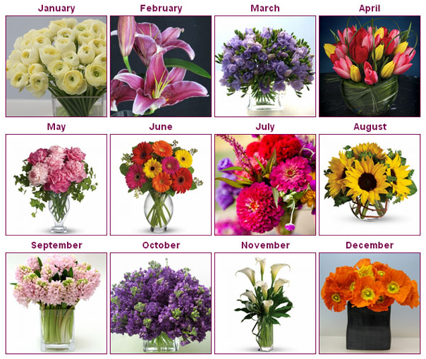 Wedding Flowers: Season by Season