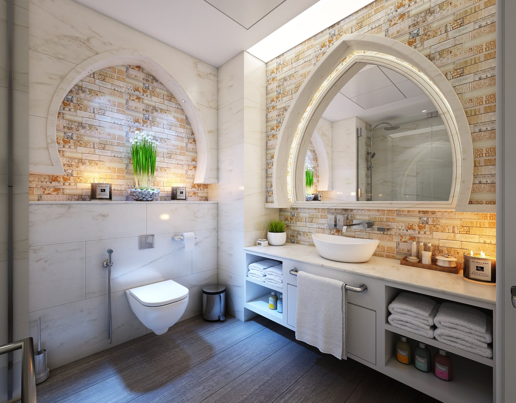 Let There Be Space: 7 Ways to Add Space to Your Small Bathroom ...